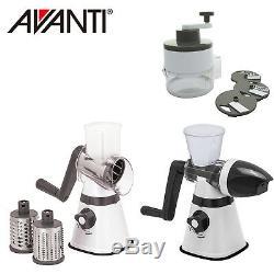 100% Genuine! AVANTI Table Top Bundle, Drum Grater Ice Cream Maker Spiral Slicer