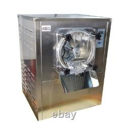 110V Commercial Frozen Hard Ice Cream Machine Ice Cream Mixer Maker 12-20L/H