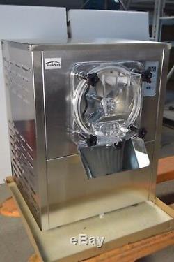 110V Commercial Hard Ice Cream Machine 1 Flavor Frozen Ice Cream Maker