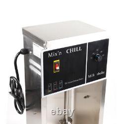 110V Electric Ice Cream Maker Machine Automatic Mixer Blizzard Shaker Blender US