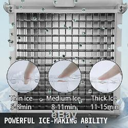 40200 KG/24H Commercial Ice Cubes Machine Bars 24126 Cases Ice-Cream Stores
