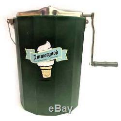 6 Qt Immergood Amish-Made Ice Cream Freezer