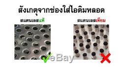 80 Ice Cream Tube Stainless Pot Bin Thai Vintage Ice Pop Icecream Popsicle Maker
