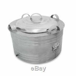 80Tube Ice Cream Stainless Pot Bin Thai Vintage Pop Icecream Maker Old Fashion
