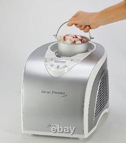 ARIETE 693 Gran Metal Gelatiera 1 Litro Ice Cream Maker 135W macchina gelato