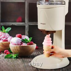 Automatic Electric Ice Cream Maker Home Soft Frozen Fruit Ice Cream Machine 220V