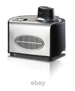 Automatic Ice Cream Maker (1.5-qt) Stainless Brand New