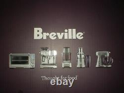 BREVILLE THE SMART SCOOP 1.5 Qt ICE CREAM MAKER with AUTOMATIC HARDNESS SETTINGS