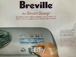 Breville 1.5 qt Ice Cream maker for sorbet, ice cream and gelato. Lightly used