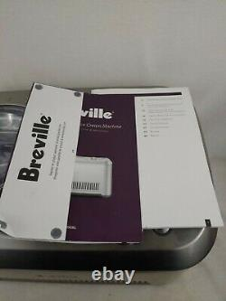 Breville BCI600XL Smart Scoop Ice Cream Maker Brushed Stainless Steel