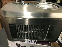 Breville BREBCI600XL Smart Scoop Ice Cream Maker, Silver