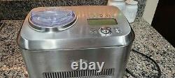 Breville Ice Cream Maker Smart Scoop BCI600XL/B Electric Compressor, Automatic
