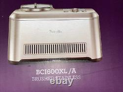 Breville Smart Scoop Ice Cream Maker BCI600XL/A Stainless Automatic 1.5 QT