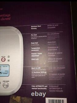 Breville smart scoop ice cream maker 12settings new in box stainless steel