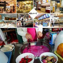 CE Fishion Ice Maker Ice Cream Fryer Ice Pan Machine, fried ice cream machine
