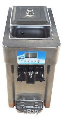 Commercial 110V Soft Serve Ice Cream Machine Frozen Yogurt Making Maker 1Flavor