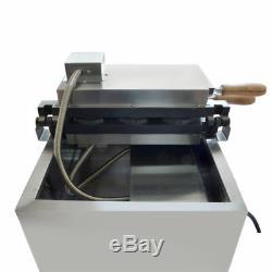 Commercial Electric 3pcs Fish Waffle Ice Cream Taiyaki Maker Baker Nonstick 110V
