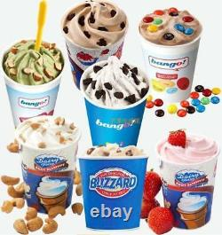 Commercial Electric Auto Blizzard Ice Cream Machine Maker Shaker Blender Mix