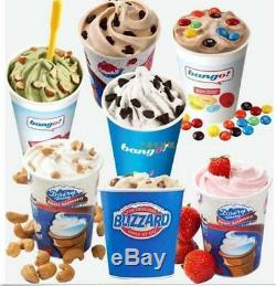 Commercial Electric Auto Blizzard Ice Cream Machine Maker Shaker Blender Mix S