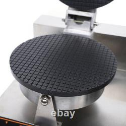 Commercial Electric Nonstick Ice Cream Waffle Cone Baker Maker Machine 50300