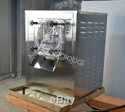 Commercial Frozen Hard Ice Cream Machine 1400W 110V 10-20 L/H Ice Cream Maker