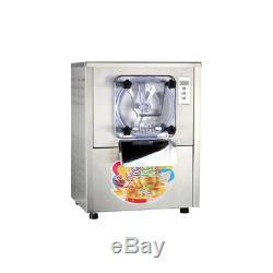 Commercial Frozen Hard Ice Cream Yogurt Machine 1400W 110V 20L/H Ice Cream Maker