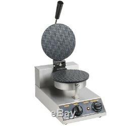 Commercial Non-Stick Electric 8 Ice Cream Waffle Cone Maker 120 Volt