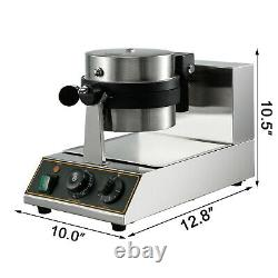 Commercial Rotating Ice Cream Waffle Maker Muffin Maker Crispy Maker Drop Type