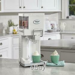 Countertop Soft Serve Ice Cream Machine Maker Yogurt Fully Automatic Freezer NEW