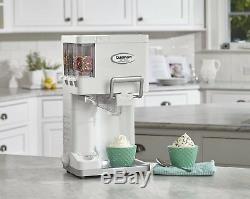 Countertop Soft-Serve Ice Cream Machine Yogurt Automatic Freezer Fully Kitchen