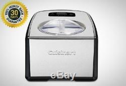 Cuisinart 1.5 Qt. Ice Cream And Gelato Maker Automatic Kitchen Appliances New