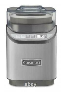 Cuisinart Cool Creations 2-Quart Ice Cream Maker Stainless Steel