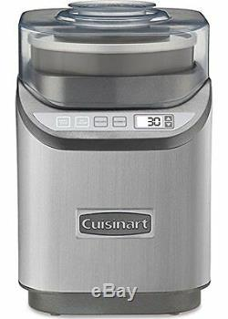 Cuisinart Cool Creations Ice Cream Maker 2 Quart Brushed Chrome (ice-70)