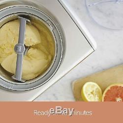Cuisinart Gelato and Ice Cream Maker Silver