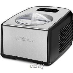 Cuisinart ICE-100 Compressor Ice Cream and Gelato Maker, 1.5 qt