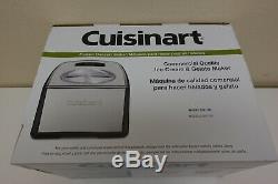 Cuisinart ICE-100 Compressor Ice Cream and Gelato Maker, Silver, 1-1/2-Quart 4A