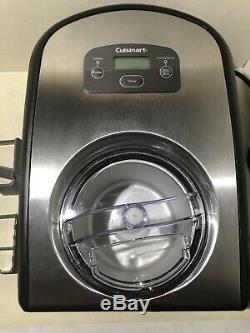 Cuisinart ICE-100 Ice Cream and Gelato Maker USED 1 TIME MINT CONDITION