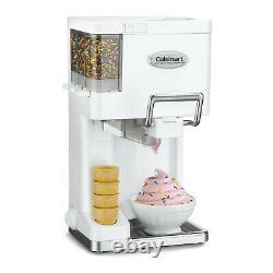 Cuisinart ICE-45 Mix It In Soft Serve 1.5 Quart Ice Cream Maker White