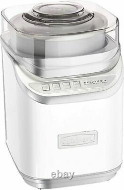 Cuisinart ICE-60W Cool Creations Ice Cream Maker, White, Brand New