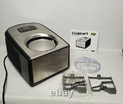 Cuisinart ICE100 Compressor Ice Cream and Gelato Maker AUTHENTIC MACHINE