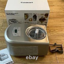 Cuisinart ICE100BCU Gelato & Ice Cream Professional Maker (Boxed & Unused)