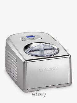 Cuisinart ICE100BCU Gelato and Ice Cream Professional Maker, Silver
