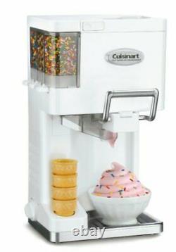 Cuisinart Ice-45 Mix It In Soft Serve 1-1/2-Quart Ice Cream Maker White