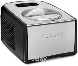 Cuisinart Ice Cream Gelato Maker Machine 1.5 Qt. Fully Automatic Operation