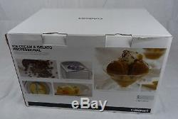 Cuisinart Ice Cream & Gelato Professional 1.5L ICE100BCU Boxed with Accessories