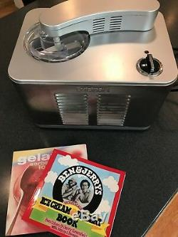 Cuisinart Ice Cream Maker ICE-50BC Bundle with Recipe Books