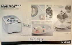Cuisinart Ice Cream and Gelato Maker Makes Ice Cream, Gelato, Sorbet, Frozen