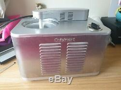 Cuisinart Ice50bcu Commercial Quality Ice Cream Maker Fwo Silver