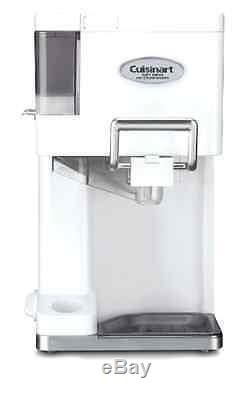 Cuisinart Mix It In Soft Serve 1-1/2-Quart Professional Ice Cream Maker, White