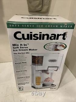 Cuisinart Soft Serve Ice Cream Maker NEW IN BOX Ice-45